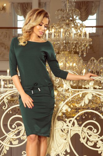 13-99 Sporty dress - dark green
