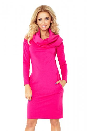 Dress with golf - pink 131-6