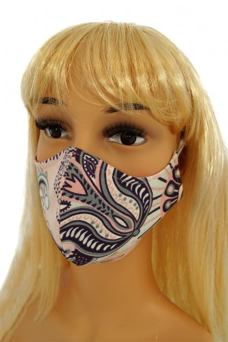 CV07 Reusable decorative masks - 100% cotton - 2 pieces